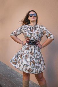 Abbigliamento curvy midì dress